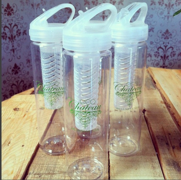 Eco Chateau Water Bottle with Infuser