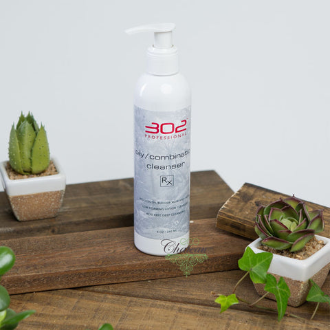 302 Skincare Oily/Combination Cleanser Rx