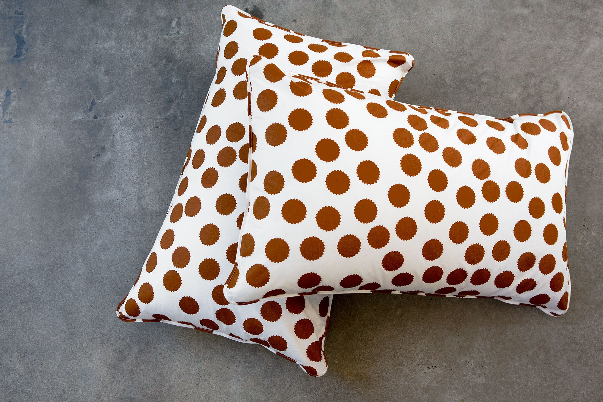 Tan Spot Pillowcases - Fictional Objects