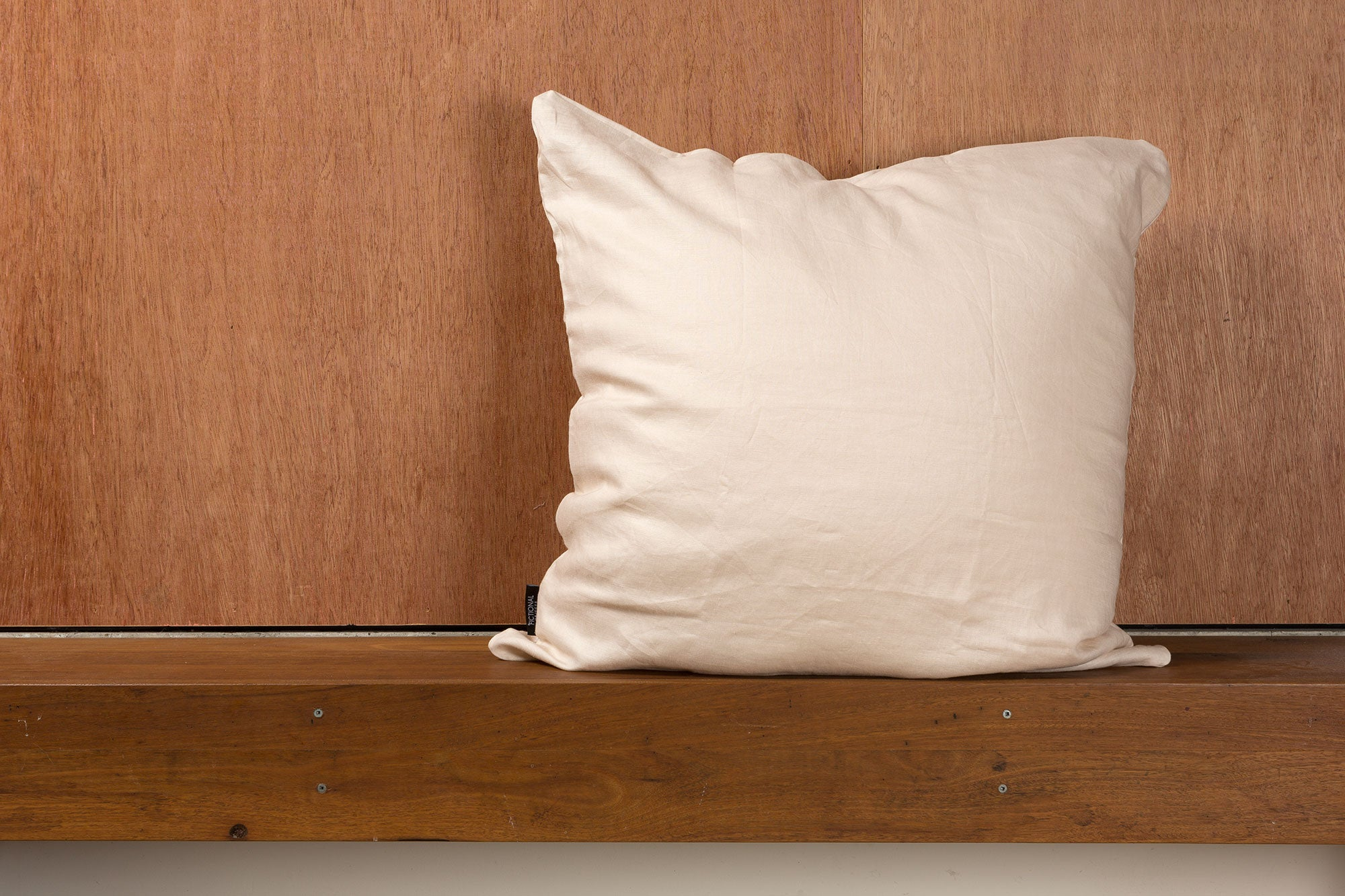 Cream Linen European Pillowcase