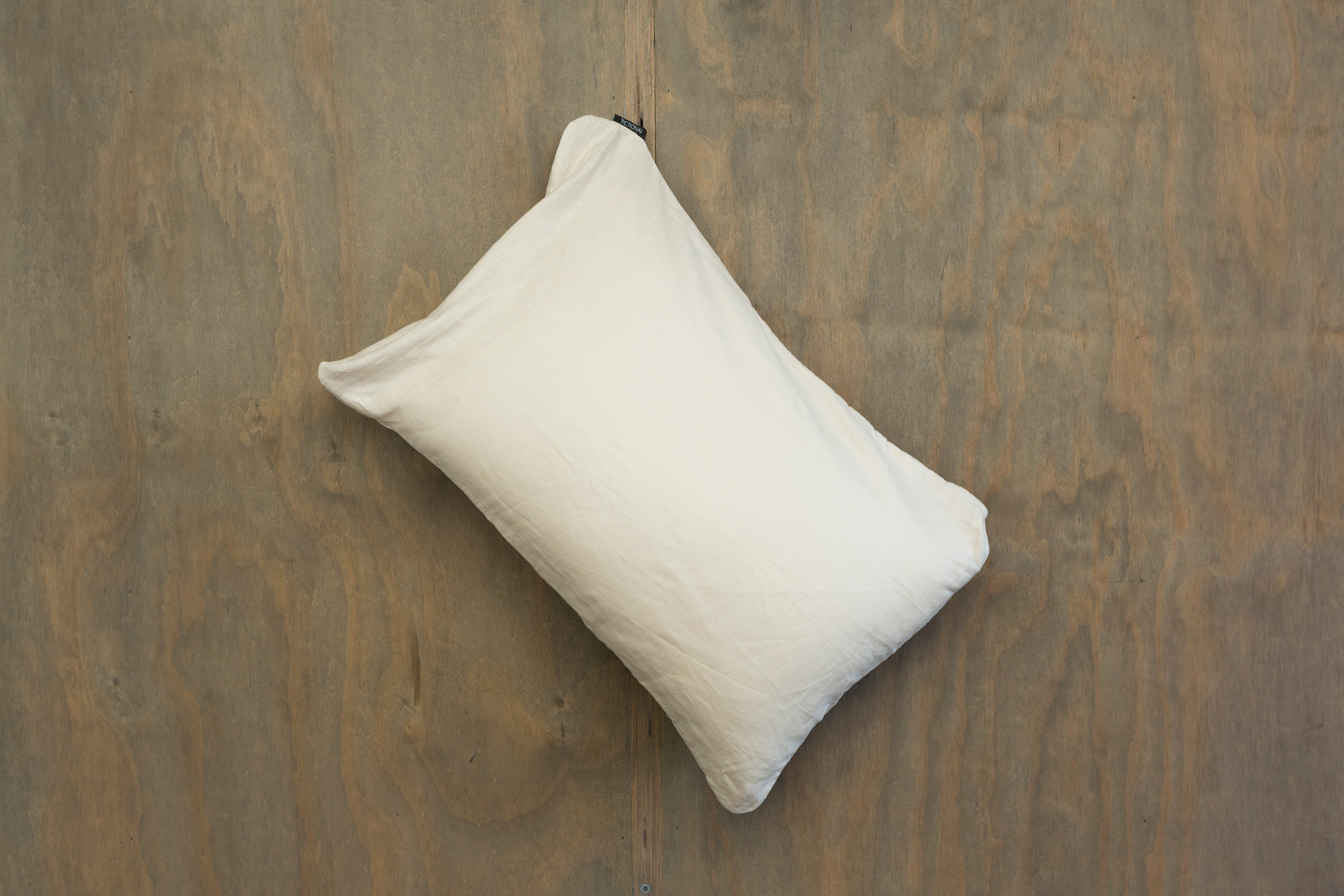 Cream Linen - Single Standard Pillowcase
