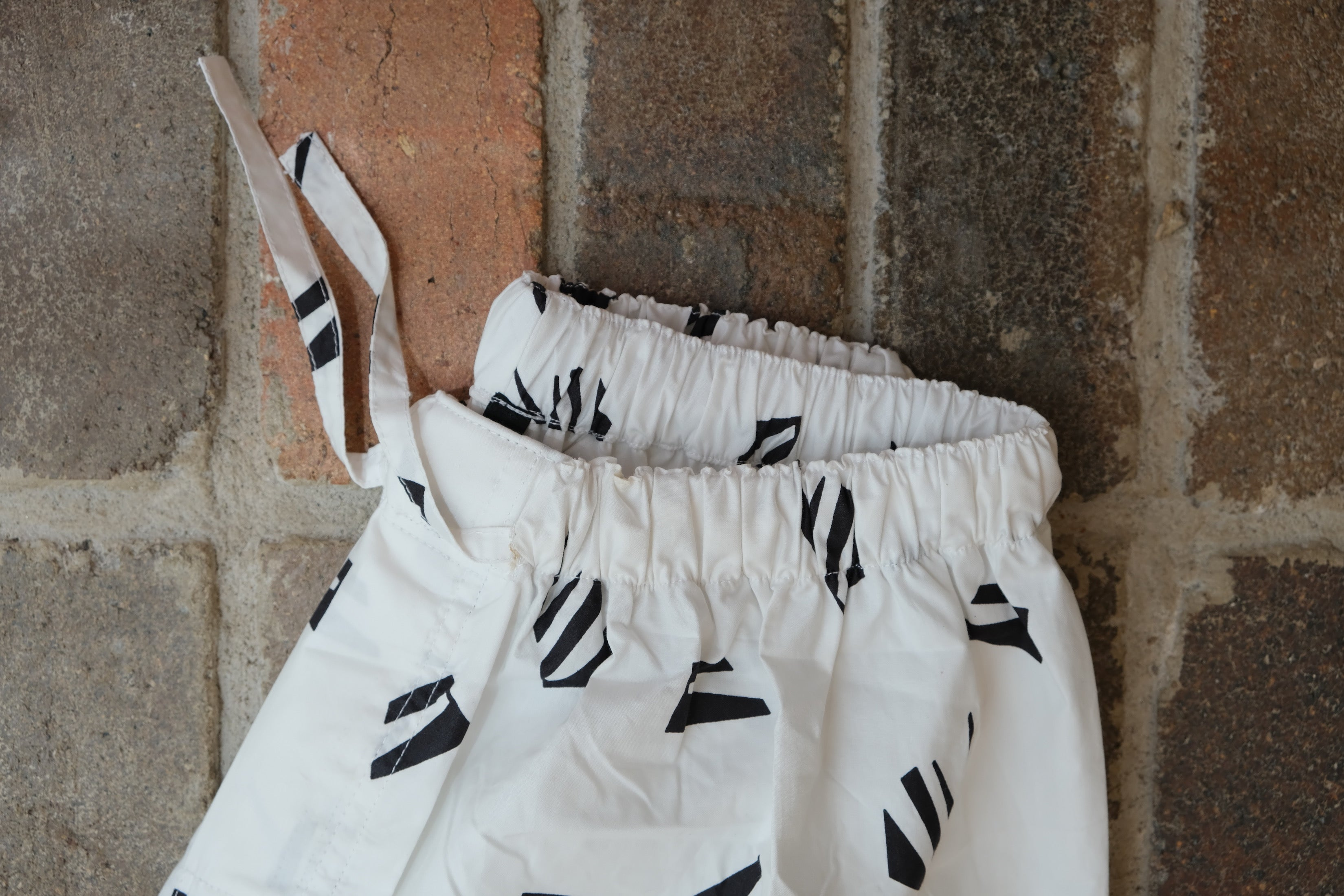 PYJAMA PANTS : LONG : WHITE PAPER