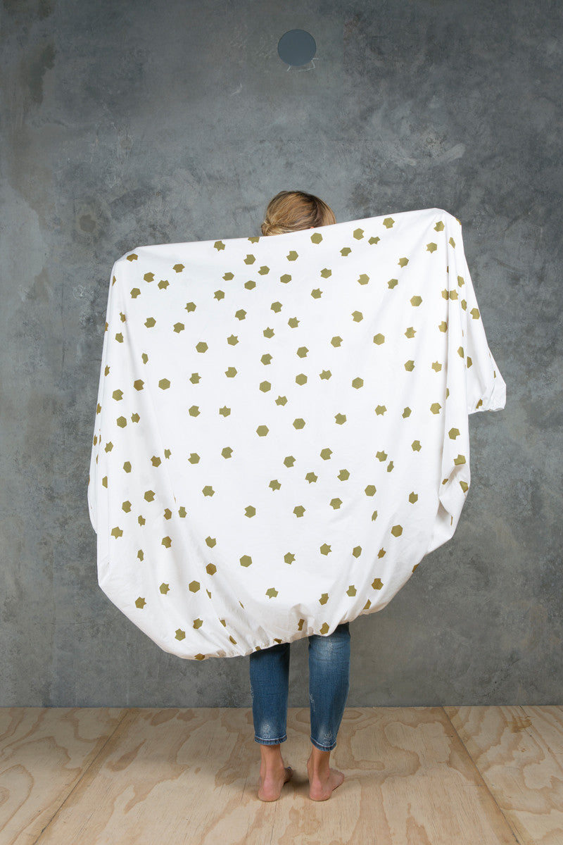 Hex Fitted Sheet