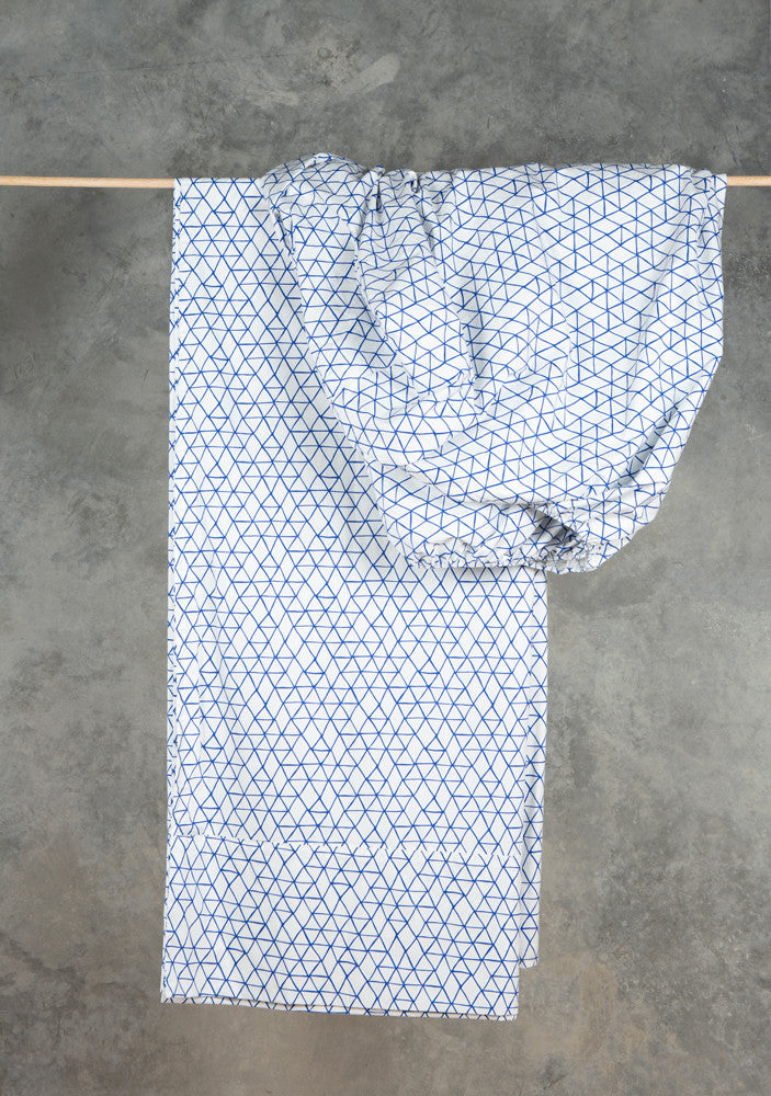Inky Blue Fitted Sheet