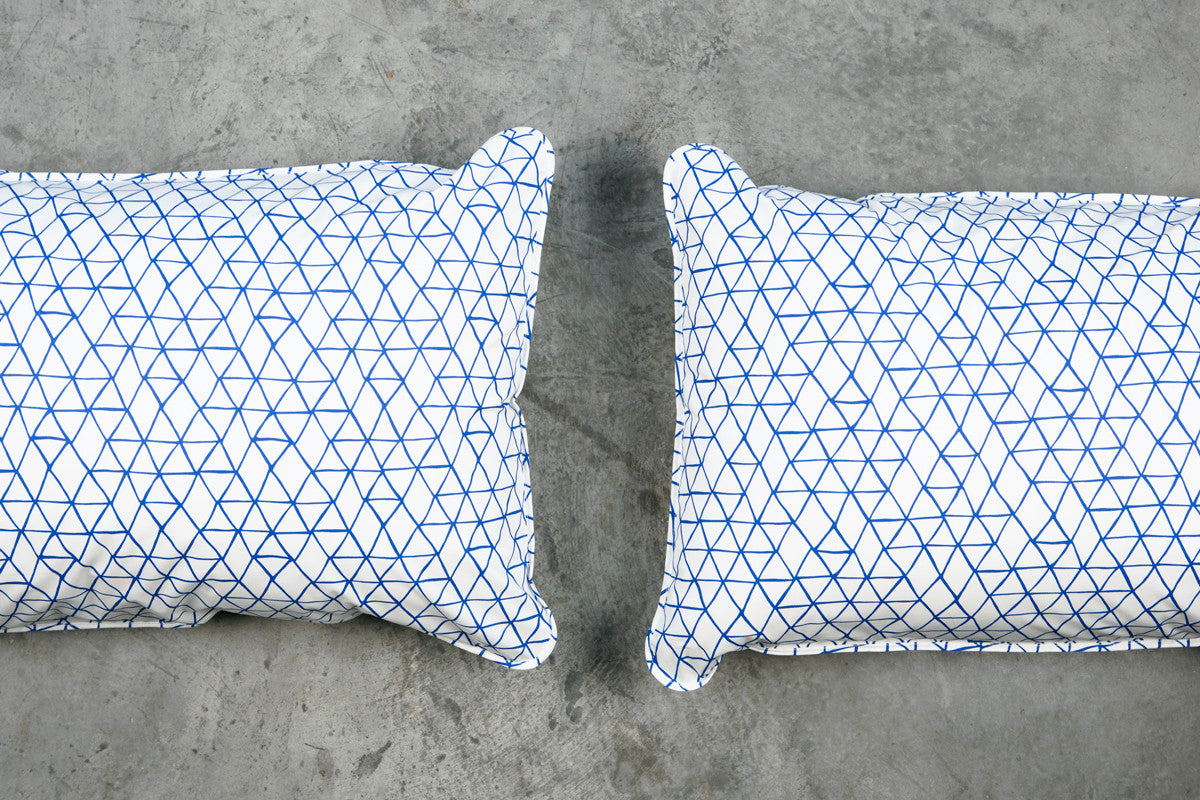 Inky Blue Pillowcases