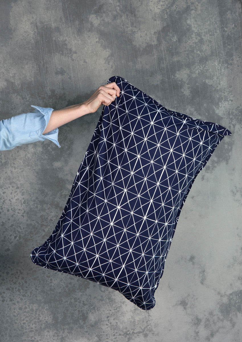 Navy Fold Pillowcases
