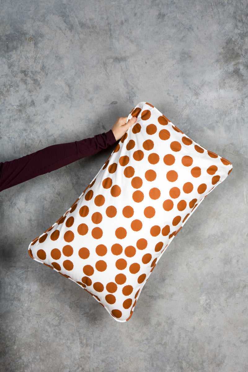 Tan Spot - Single Standard Pillowcase - Fictional Objects