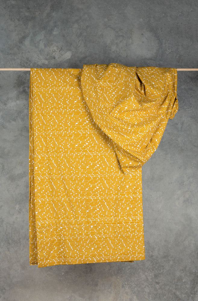 Yellow Flags Fitted Sheet