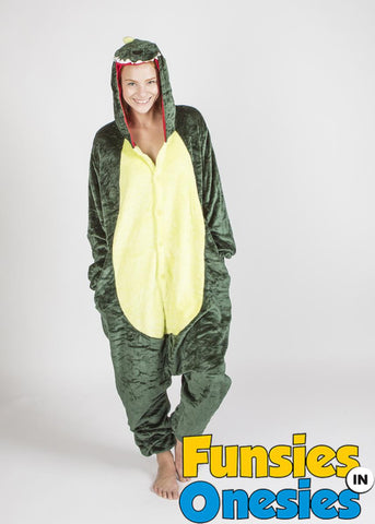 9f756cfbe96b Adult Dinosaur Onesie – ClassiKO Finds