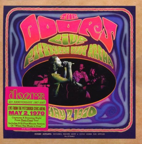 The Doors Live In Pittsburgh 1970 [CD] Front