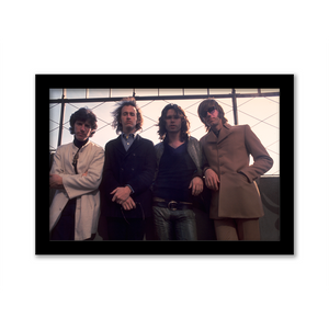 The Doors Observation Deck Gallery Print black frame