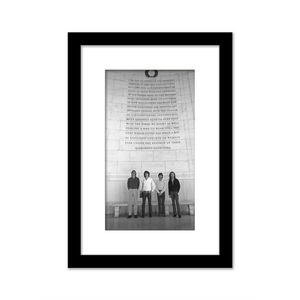 The Doors At The Jefferson Memorial Gallery Print framed