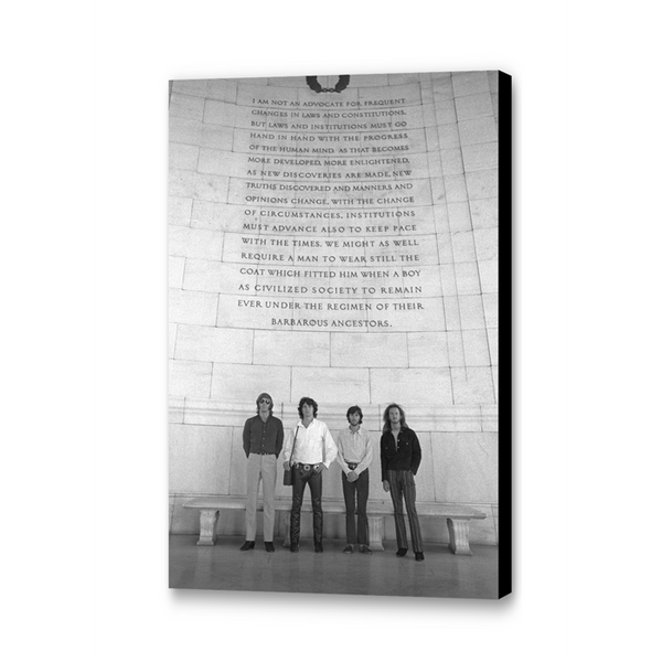 The Doors At The Jefferson Memorial Gallery Print angled