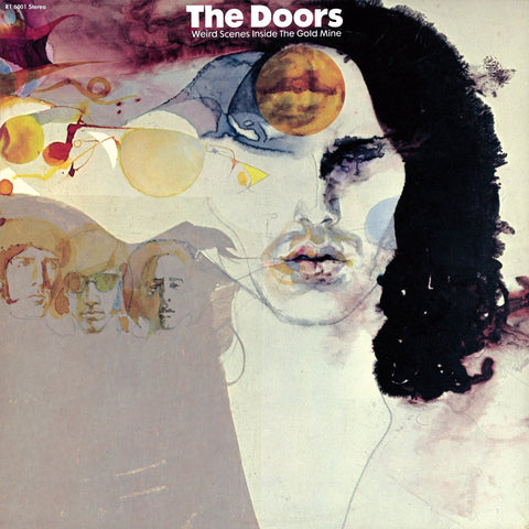 The Doors Weird Scenes Inside The Gold Mine [CD] 1971 front