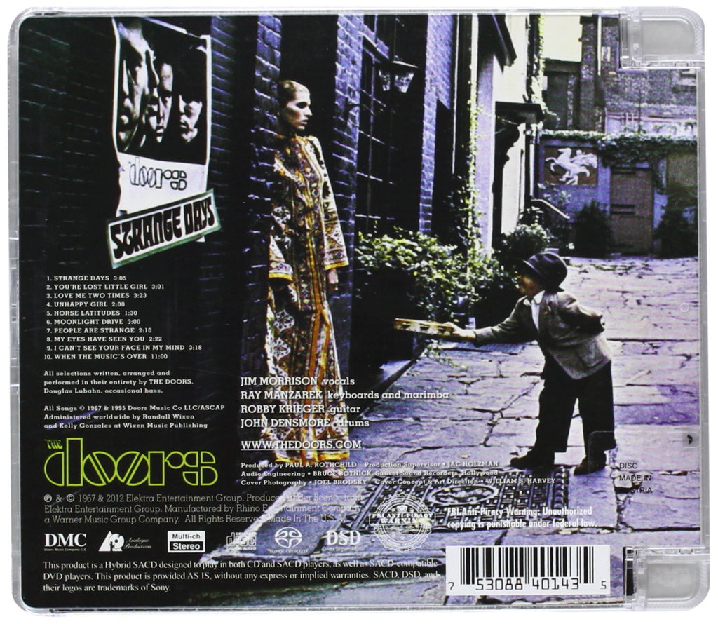 Strange Days [SACD] · Strange Days [SACD] & Strange Days [SACD] u2013 The Doors Official Online Store