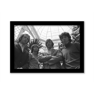 The Doors Atrium Gallery Print black frame