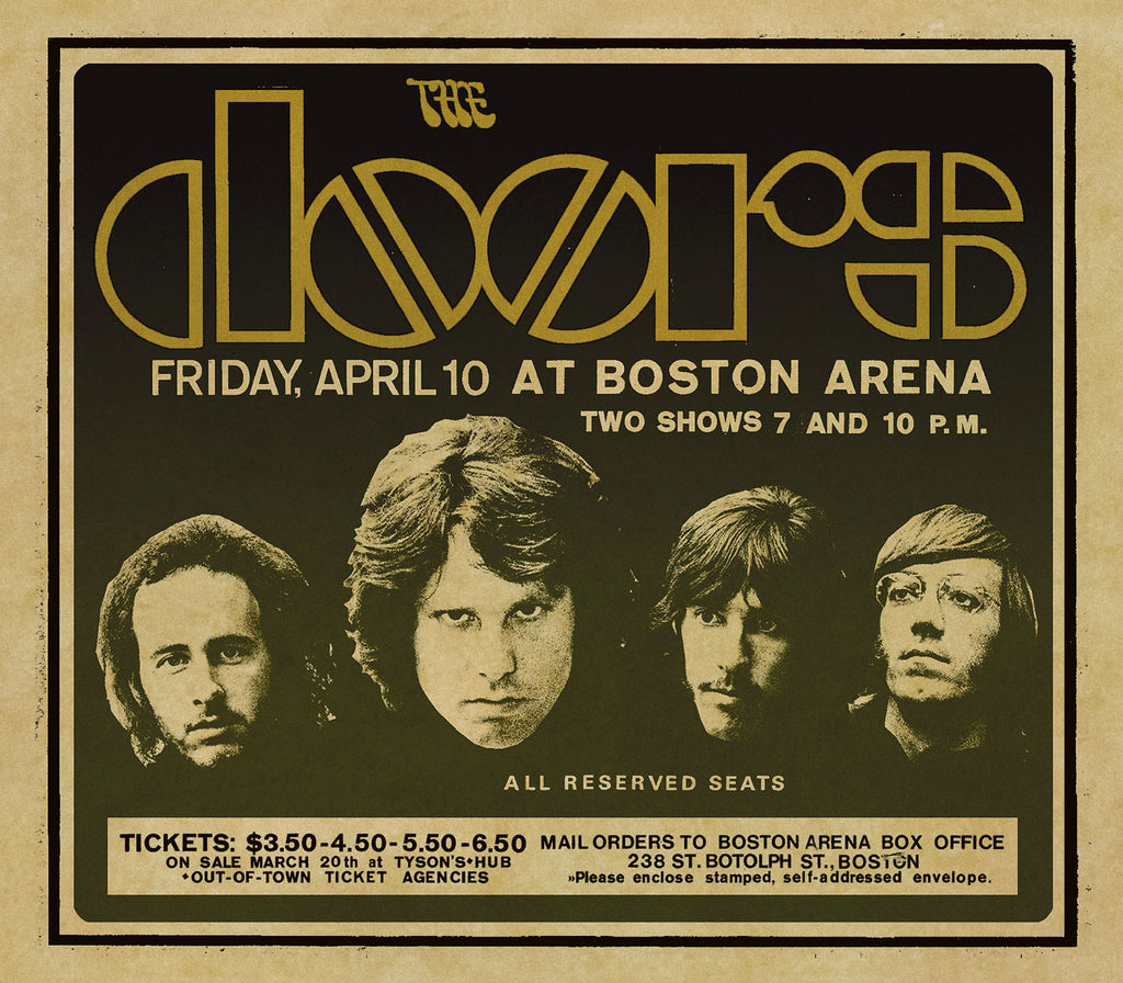 Live In Boston [3 CDs]  sc 1 st  The Doors Official Online Store & The Doors Live In Boston [3 CDs] \u2013 The Doors Official Online Store