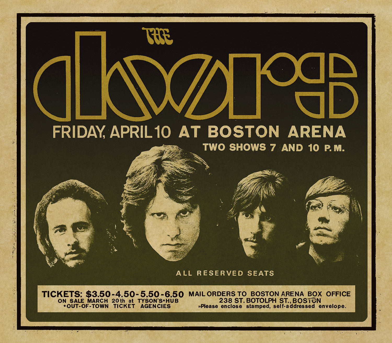 The Doors Live In Boston [3 CDs] 1970