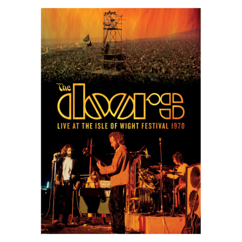 The Doors Live at the Isle of Wight Festival 1970 [Video] blu-ray dvd cd front