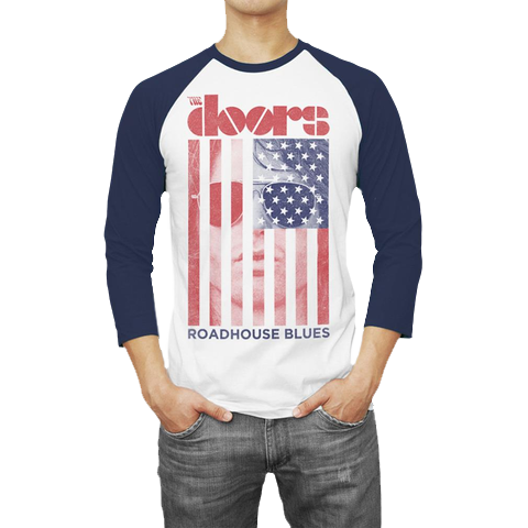 Roadhouse Blues Raglan T-Shirt