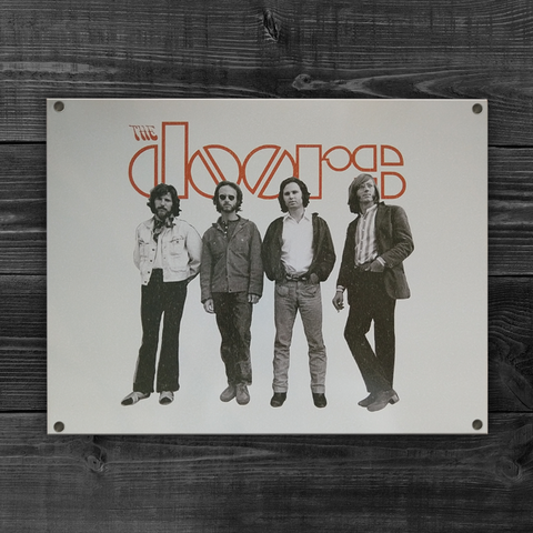 The Doors Band Tin Sign