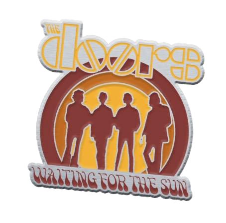 Waiting For The Sun Lapel Pin