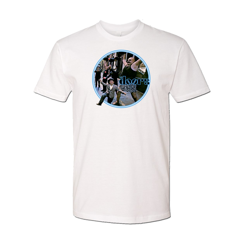 The Doors Strange Days Cover Art T-Shirt White