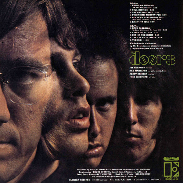 The Doors [Expanded CD] back