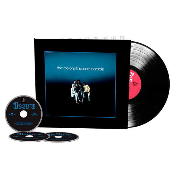 The Soft Parade - 50th Anniversary Deluxe Edition [3CD+1LP] PRE-ORDER