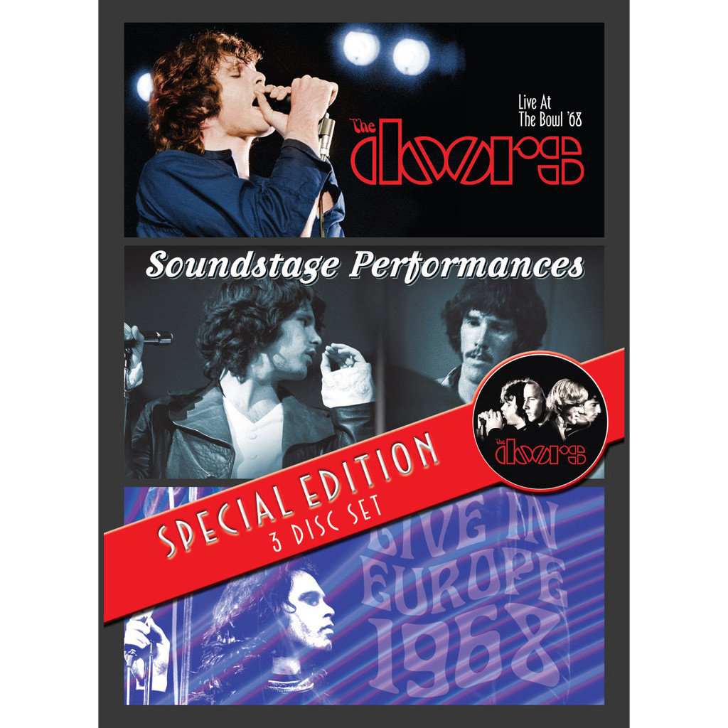 The Doors Special Edition 3-Disc Set [DVD]