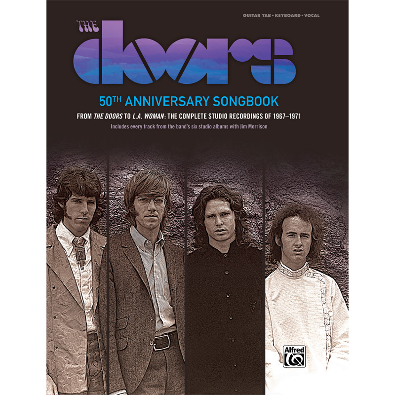 The Doors 50th Anniversary Songbook  sc 1 st  The Doors Official Online Store & The Doors 50th Anniversary Songbook u2013 The Doors Official Online Store