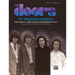 The Doors 50th Anniversary Songbook front