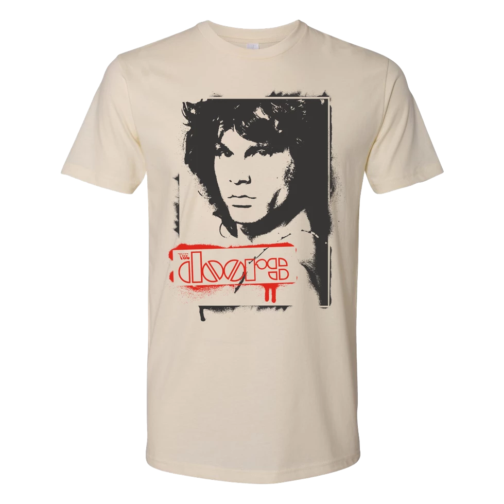 Jim Morrison Graffiti T-Shirt