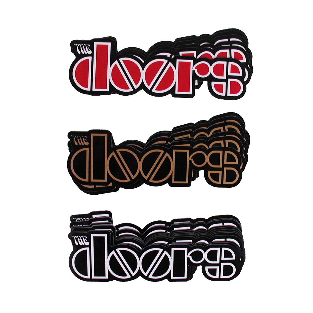 The Doors Logo Sticker