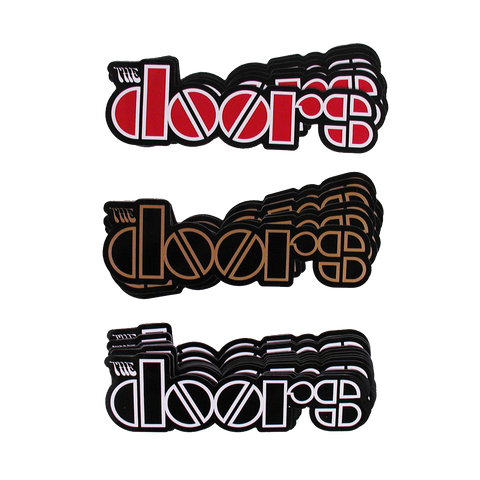 The Doors Logo Stickers