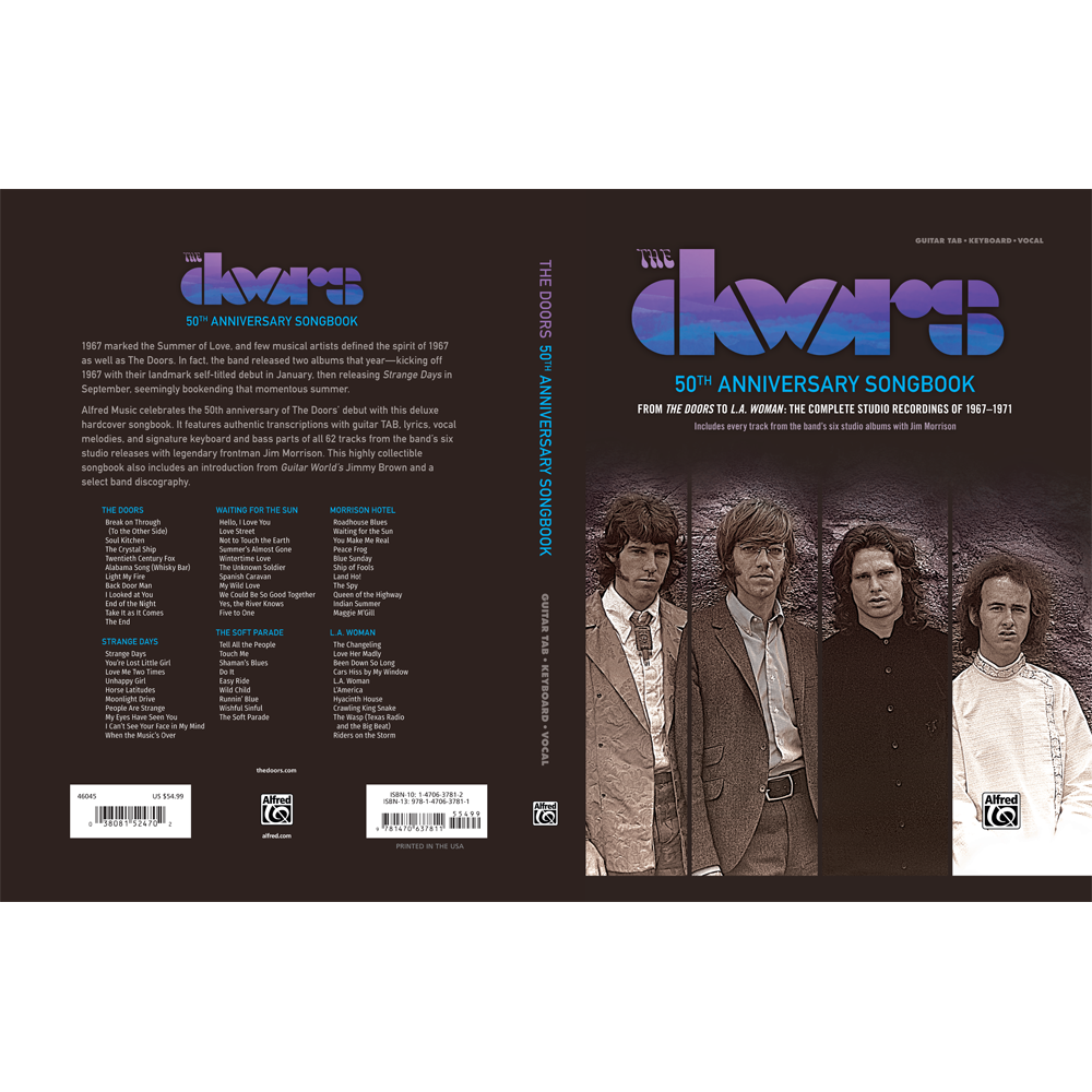 ... The Doors 50th Anniversary Songbook ...  sc 1 st  The Doors Official Online Store & The Doors 50th Anniversary Songbook u2013 The Doors Official Online Store