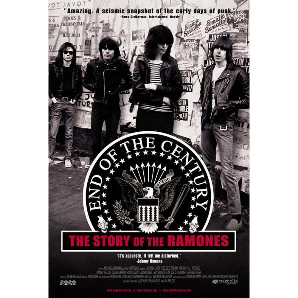 Ramones End Of The Century The Story Of The Ramones Dvd