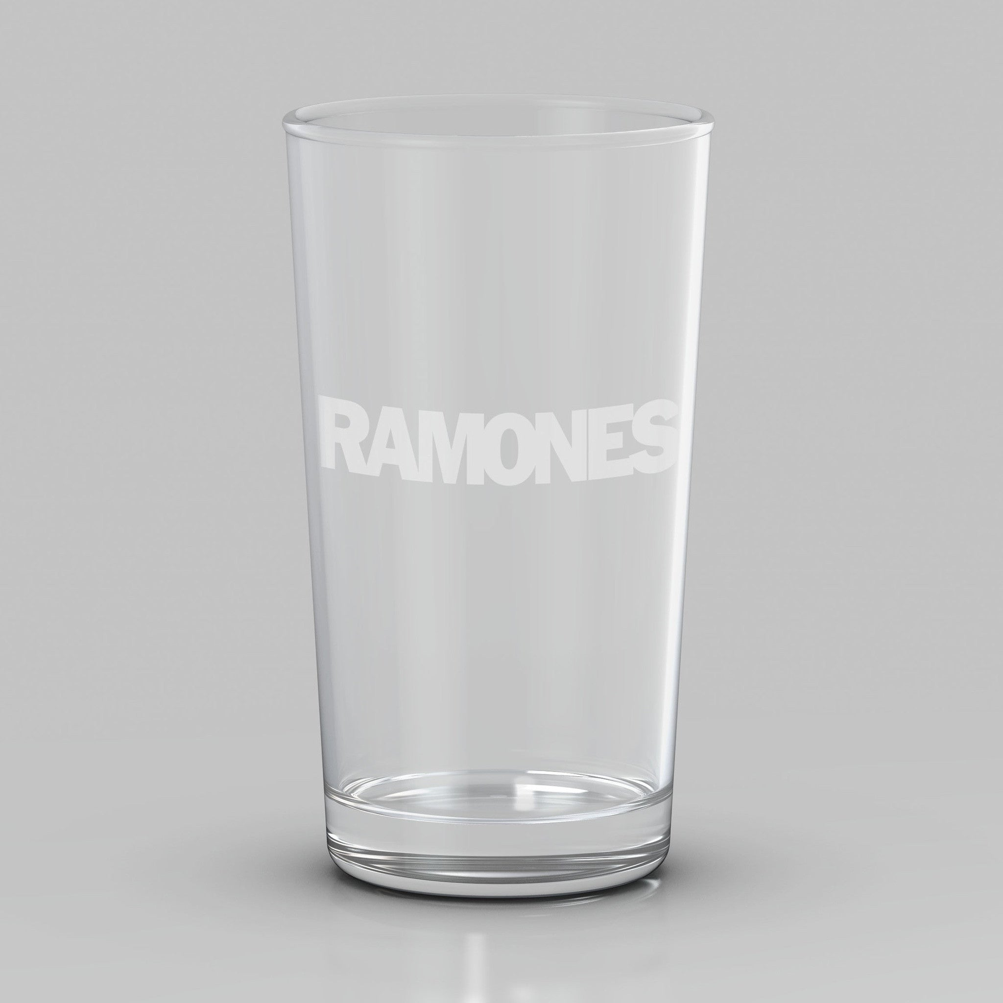 Ramones Etched Logo Pint Glass