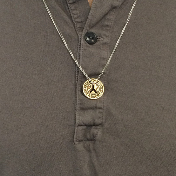 NYC Subway Token Necklace
