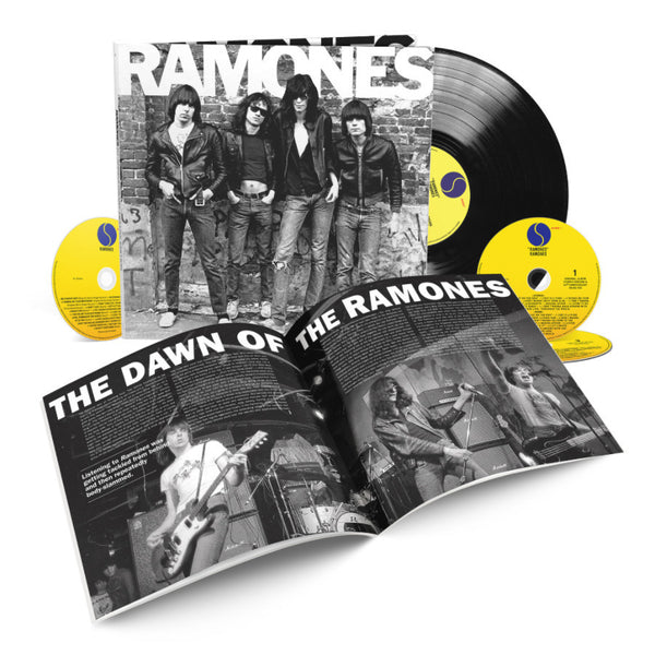 Ramones: 40th Anniversary Deluxe Edition 3-CD/1-LP Set