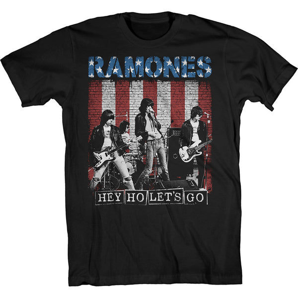 Hey Ho Let's Go Color Poster T-Shirt