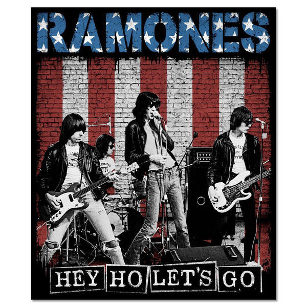 Hey Ho Let's Go Poster