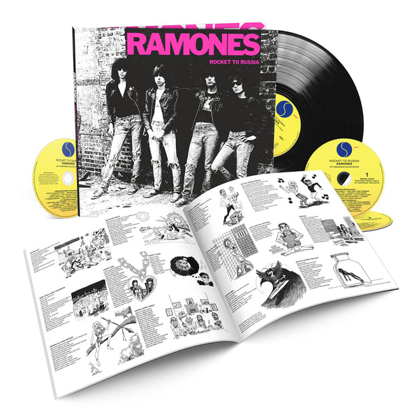 Rocket To Russia [40th Anniversary Deluxe Edition - 3CD/1LP]