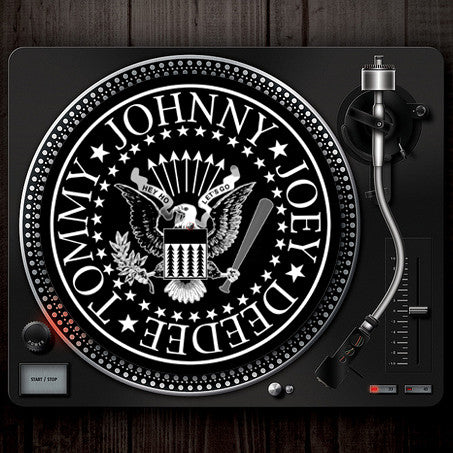 Logo Turntable Slip Mat