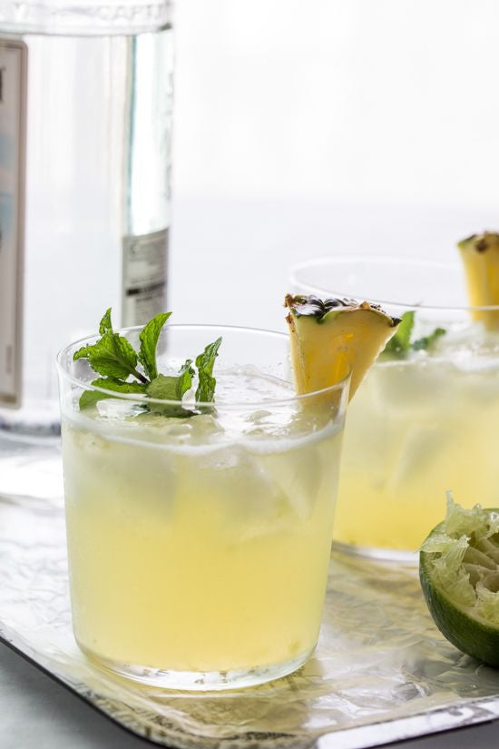 Drink of the month! Pineapple Mojito