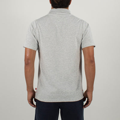 2 Foot Putt Polo HEATHER GREY