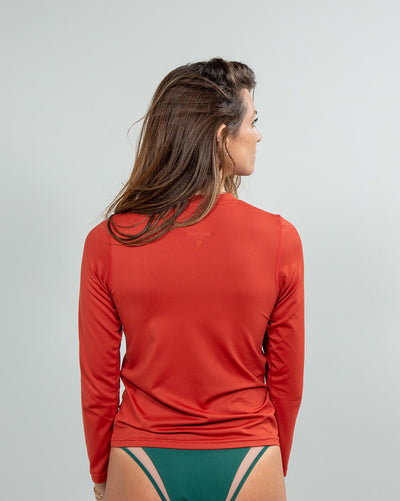 Protector Element Guard Women's Rusty Red back