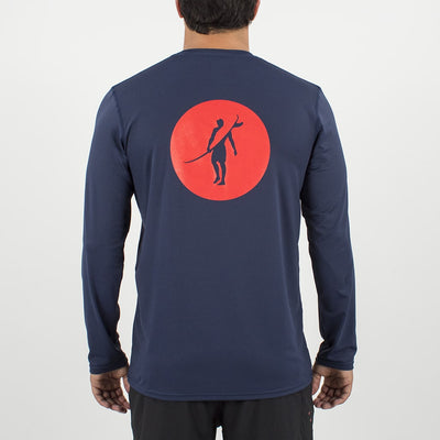 Coaster - UPF Long Sleeve T Shirt Back In  ELEMENT NAVY