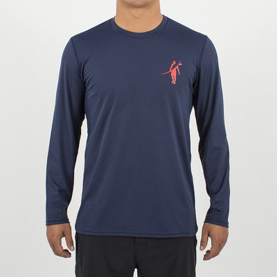 Coaster - UPF Long Sleeve T Shirt Front In ELEMENT NAVY