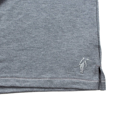Leeward Polo (Sea Silk) DARK HEATHER GREY
